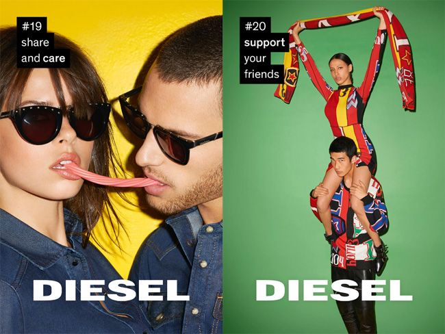 """diesel for successful living branding strategies Title: diesel market segmentation, author: benno ariantoputro, name: diesel   with the brand name : -diesel extends its name to """"diesel for successful living"""",   the diesel word was nowhere, which was in part a strategy to give credibility,."""