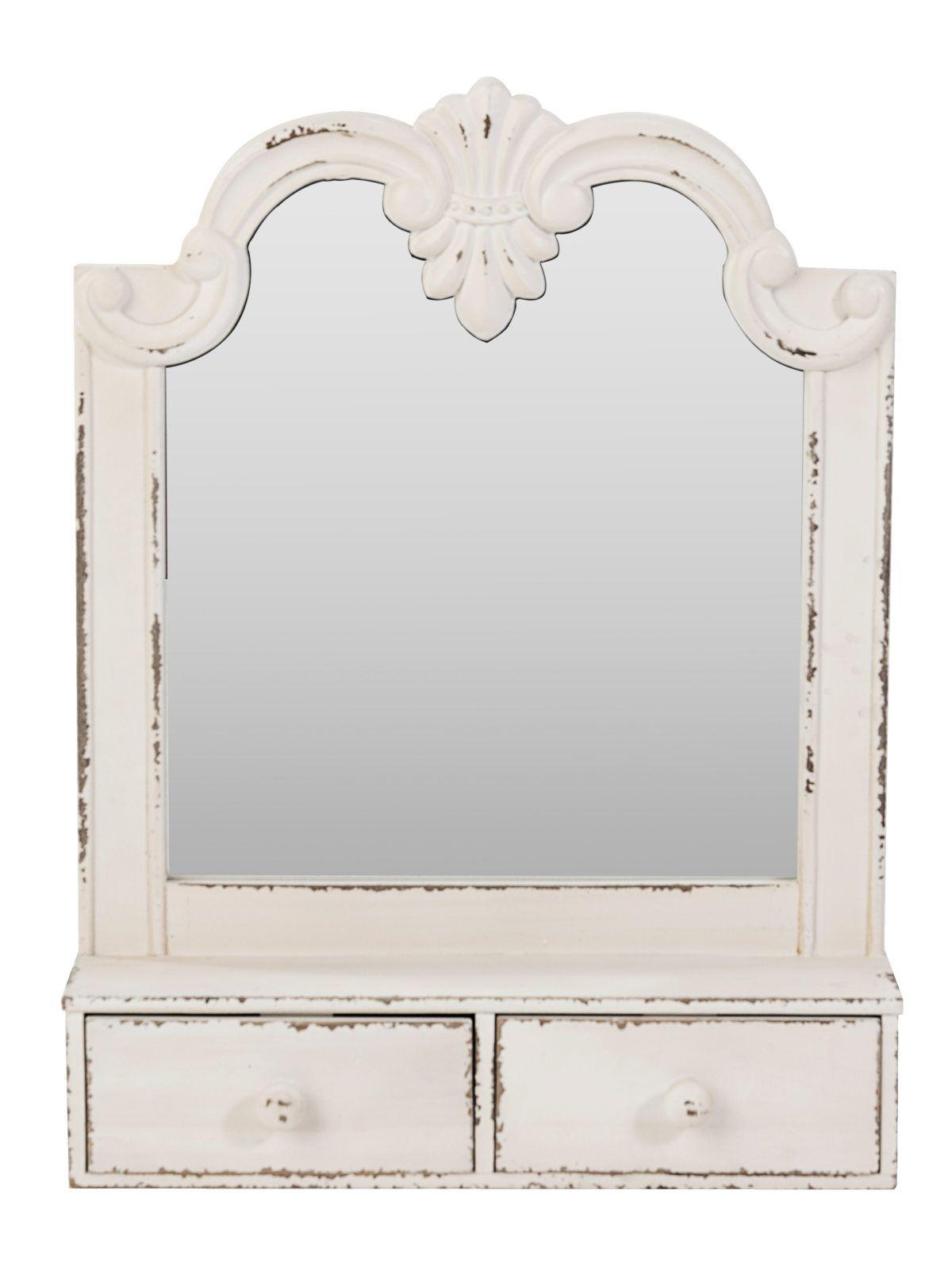 Spiegelschrank Vintage Weiss Moebeldeal Com