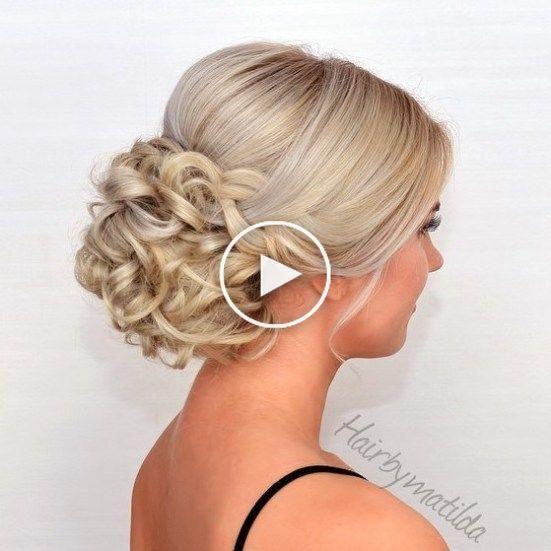 40 les plus délicieux Prom Chignons pour cheveux longs en 2019 in 2020 | Long hair updo, Wedding ...