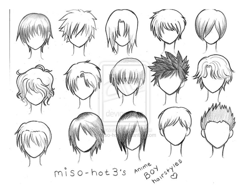 Peinados otakus para hombres