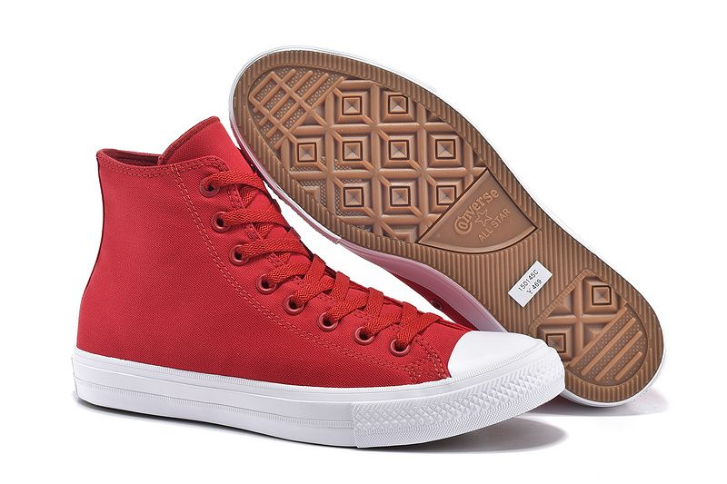 0da54d0b3edb12 converse Converse Red High Tops Chuck Taylor All Star II Mens Shoes ...