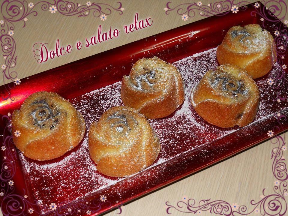 ROSE DI PAN DI SPAGNA E NUTELLA <3 #dolceesalatorelax #muffin #homemade #cook #lemaddine #madeinfacebook