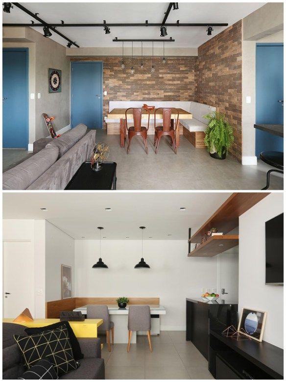 Ideias Para Pequenos Espacos Sala De Jantar Com Imagens Home