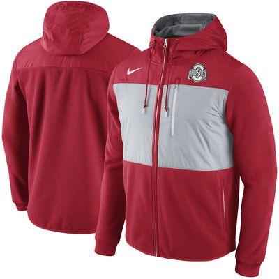 Ohio State Buckeyes Nike Champ Drive AV15 Full-Zip Hoodie - Red