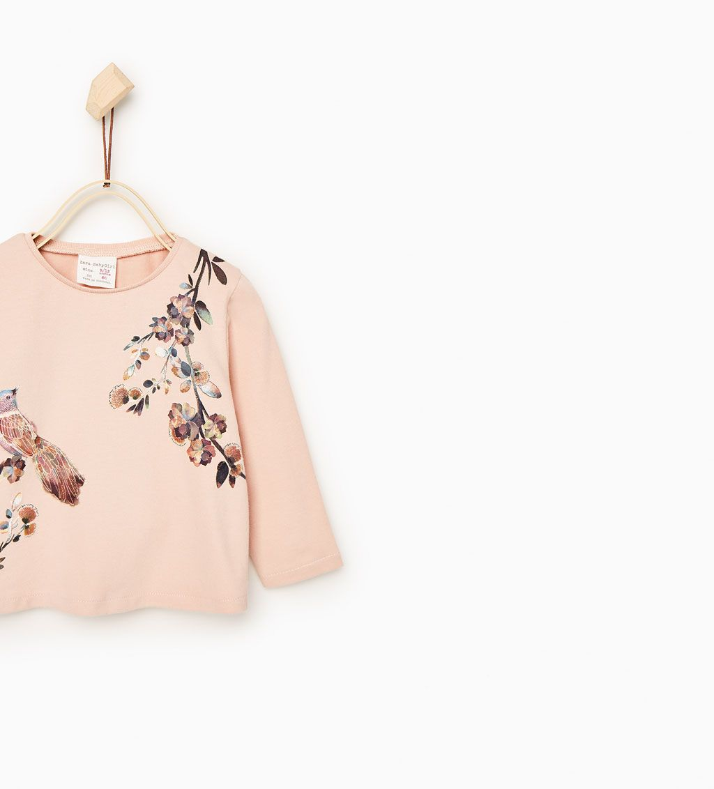 Zara Kids Birds T Shirt
