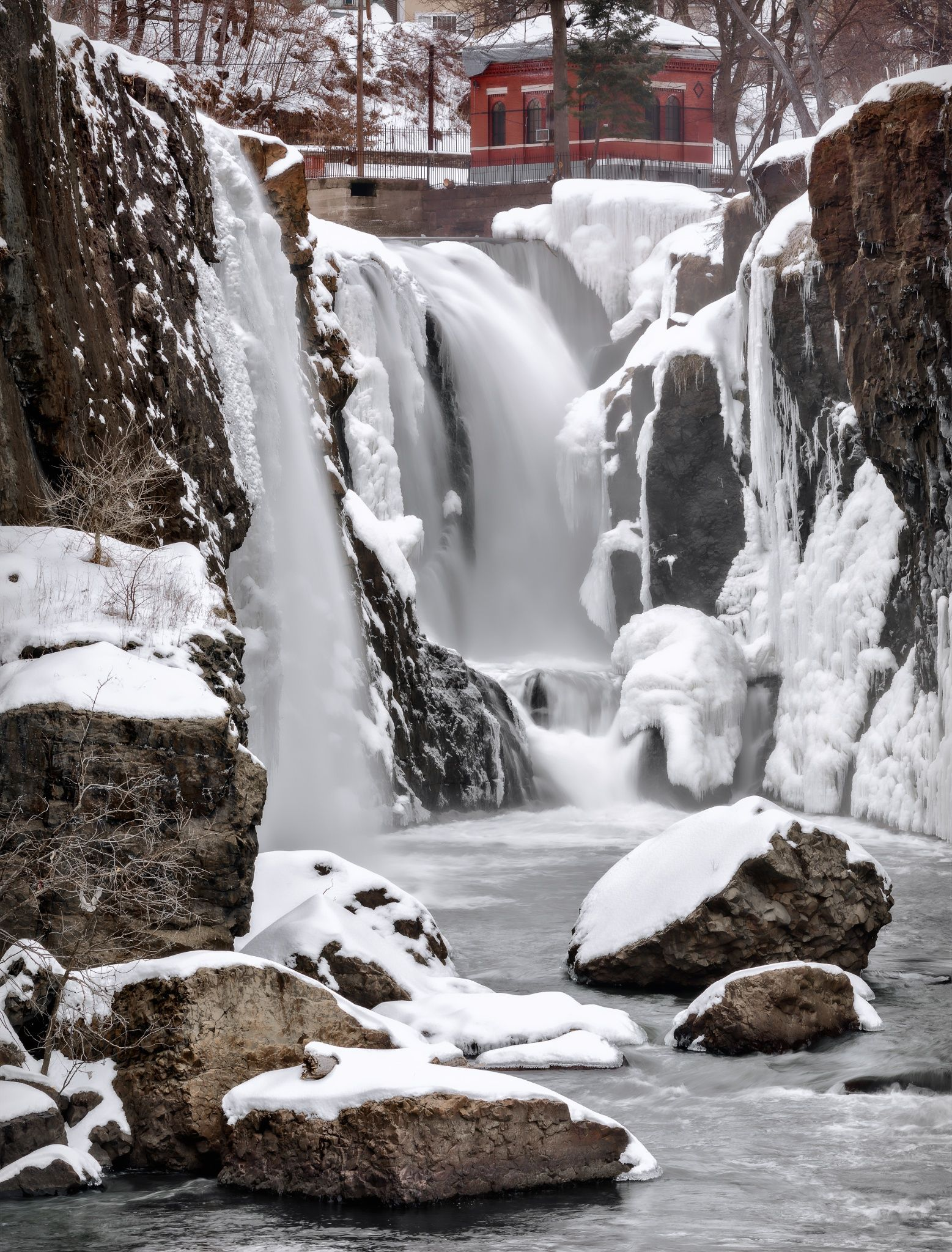 The Frozen Falls - Great Falls at Paterson National Historical Park ...