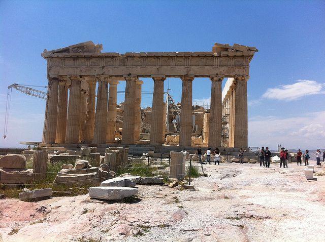 The Parthenon by alexik, via Flickr