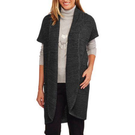 Concept's Womens Textured Cocoon Cardigan Sweater, Size: Medium ...