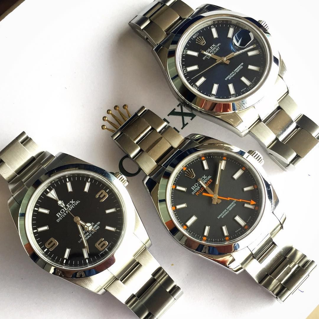Rolex Oysters