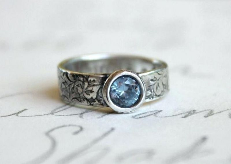 Good Go Traditional With Native American Wedding Rings