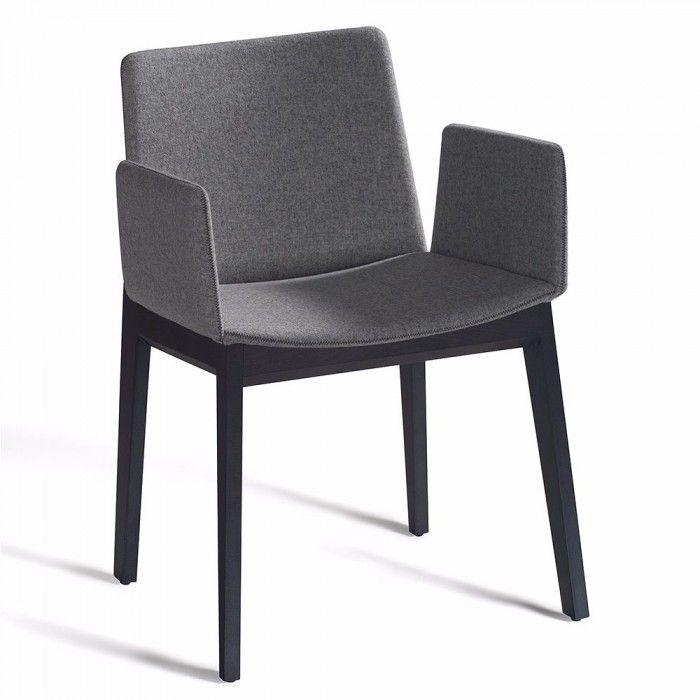 Sill n tapizado ava de capdell con brazos sillas - Tapizado de sillones ...