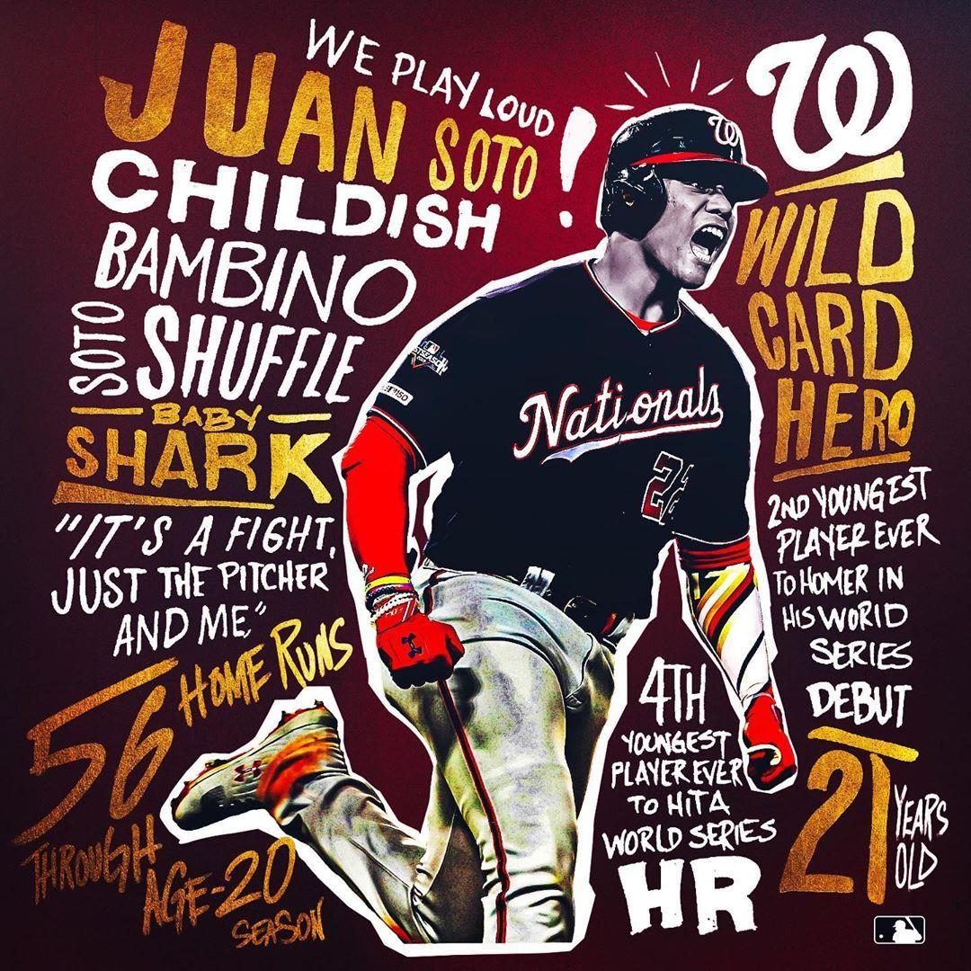 Mlb Happy 21st Birthday To Juan Soto Is Champagne In His Near Future Baseball Big4 Bigfour Big4 Big Happy 21st Birthday 21st Birthday Soto