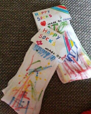 Glückliche Socken des Vatertags - Dekoration #superherocrafts