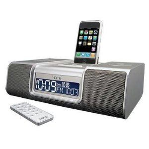 iHome iP9 Speaker Dock with Clock Radio for iPod and iPhone (Silver) (Electronics)  http://www.phoccessories.com/bpl.php?p=B001L9KN56  B001L9KN56 - #iHome