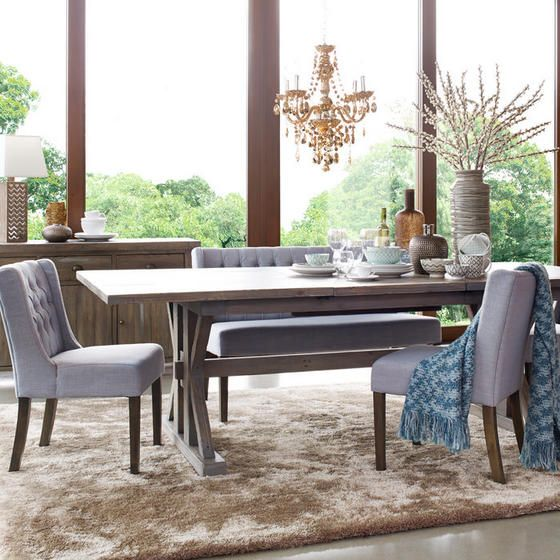 Chateau Extension Dining Table At Urban Barn