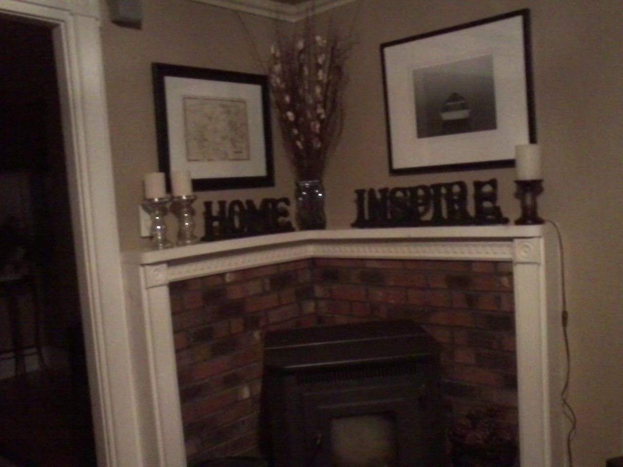 Corner Pellet Stove With Mantel For The Home Pinterest