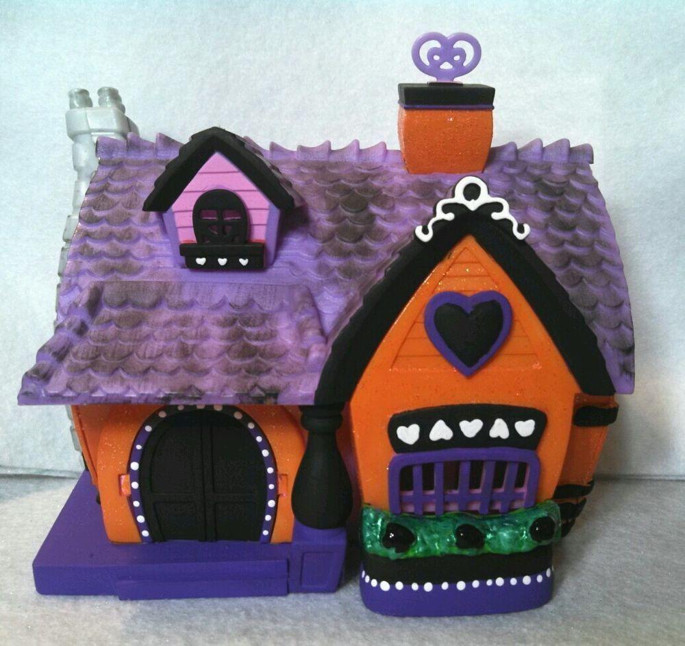 Halloween Haunted Cottage House * Hand Painted Custom