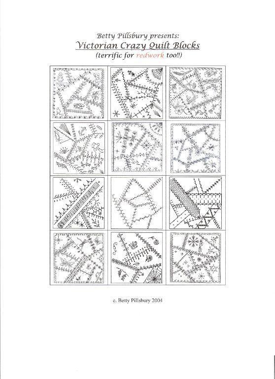Victorian Crazy Quilt Blocks Crazy quilt blocks, Victorian and Crazy quilting