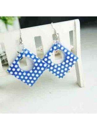 Polka Dot Key Earrings