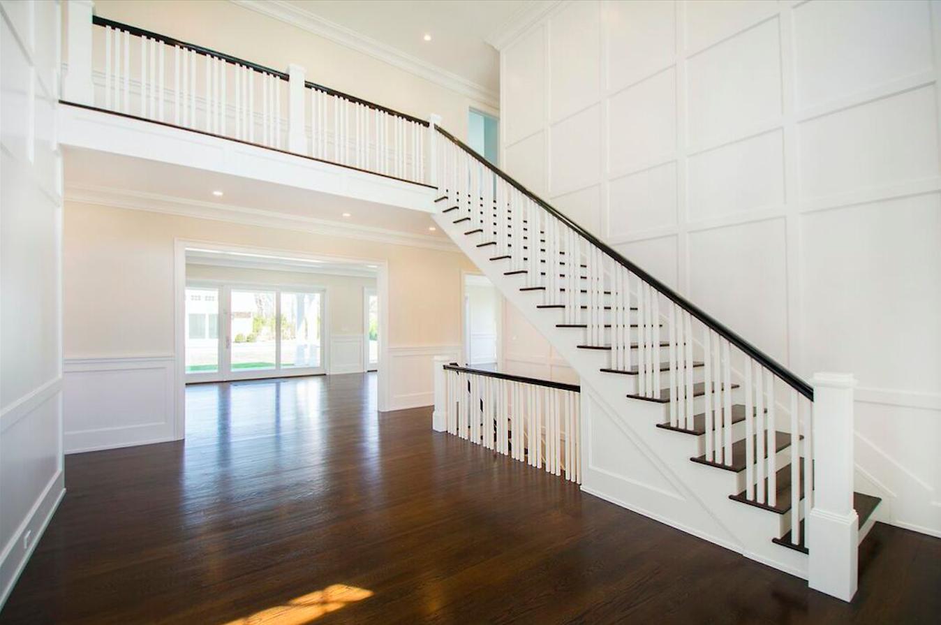 Custom Home Built by Schuttinger Building #Foyer #Woodwork #Trim ...