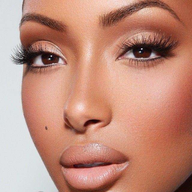 Nude Lips For Dark Skin Women2 | Make up | Pinterest ...