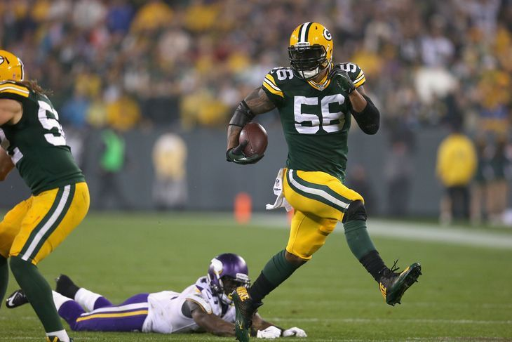 Packers Top Plays 6 Peppers Pick Six Julius Peppers Packers Green Bay Packers