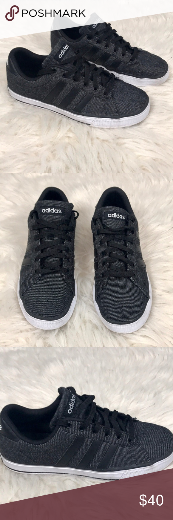 Gli uomini è adidas neo nero adidas, le adidas e scarpe da ginnastica