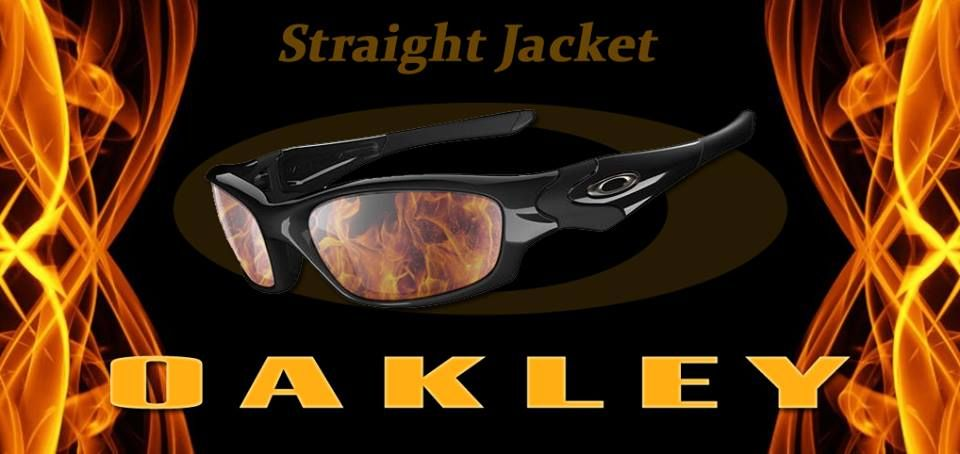 STRAIGHT JACKET Oakley Sunglasses: Oakley made STRAIGHT JACKET ...