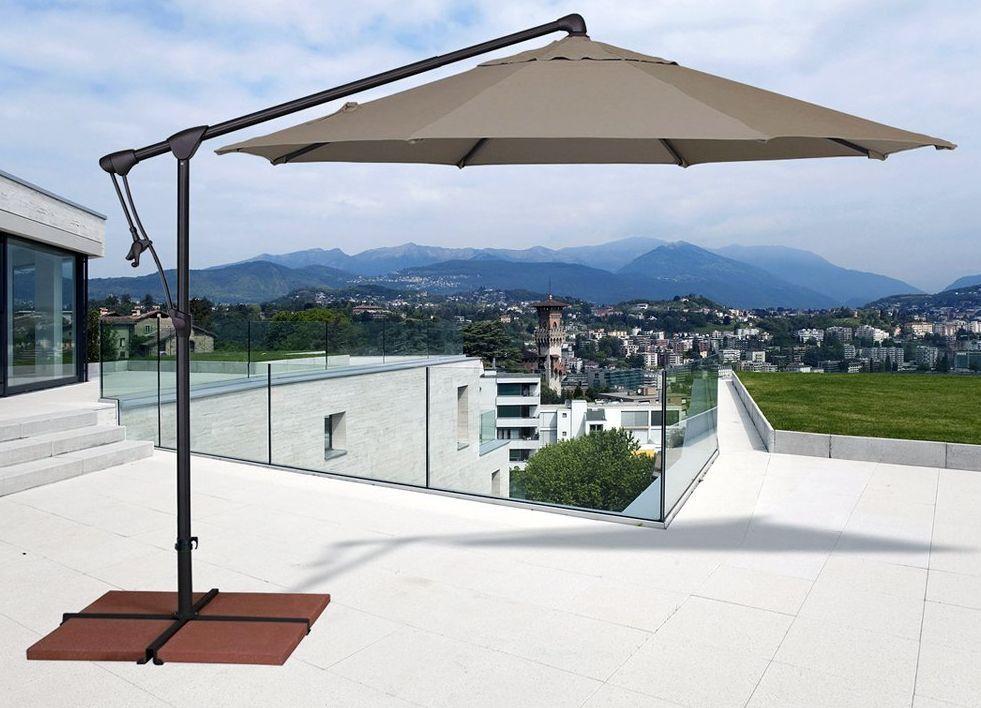 10 Octagonal Cantilever Umbrella   Frontera Furniture Company