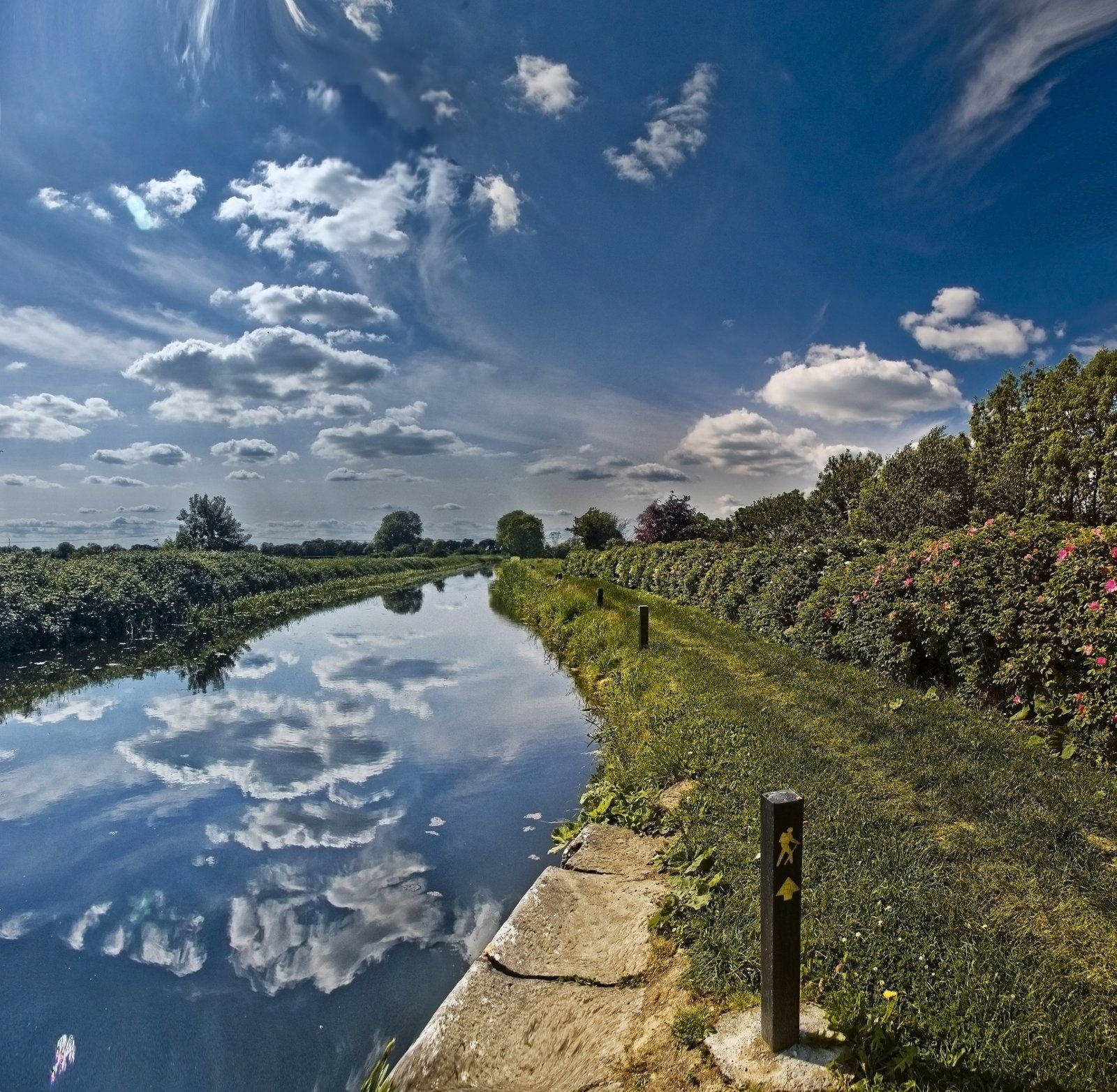 Royal Canal near Maynooth, County Kildare. Photo by ...