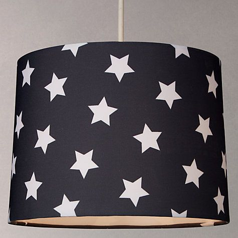 Where To Buy Lamp Shades Endearing Little Home At John Lewis Star Lampshade Navy  John Lewis Review