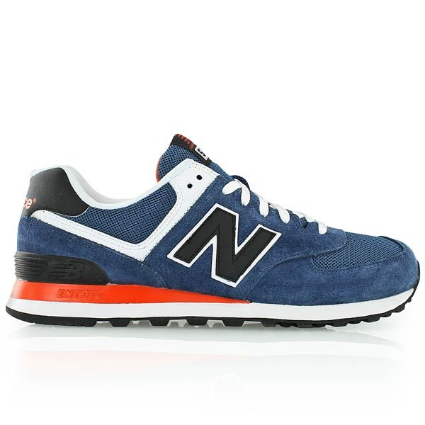 new balance ML574 D blueblack | Fashion | Sneakers, New