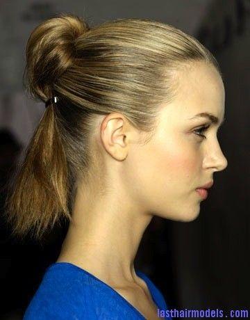 Half Bun Half Ponytail Last Hair Models Hair Styles Last