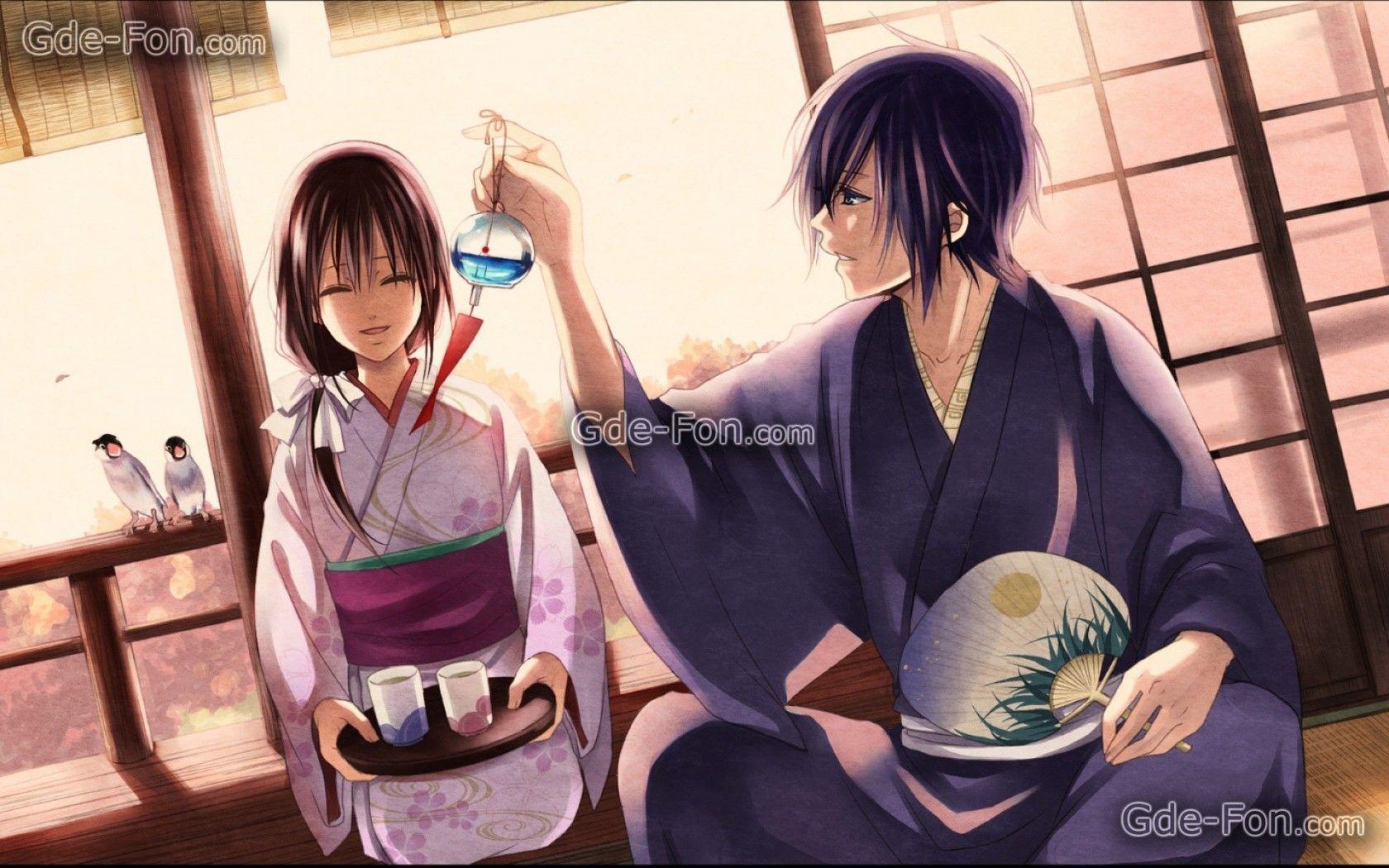 Anime Oriental Tea Party 浴衣, マンガ