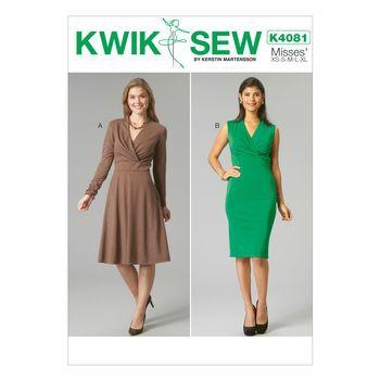 Mccall Pattern K4081 All Sizes -Kwik Sew Pattern   Sewing - Dresses ...