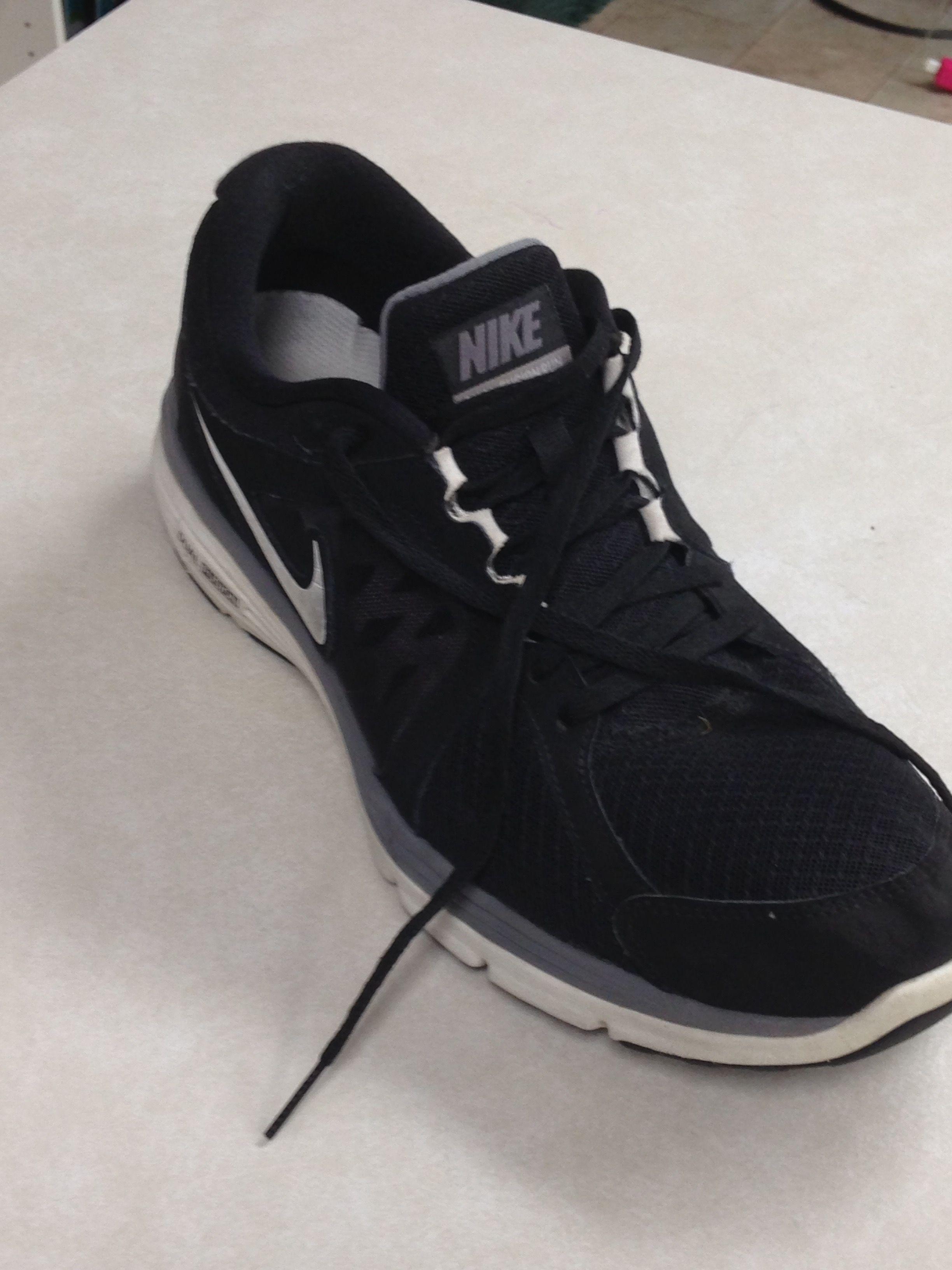 Men's black Nike's.