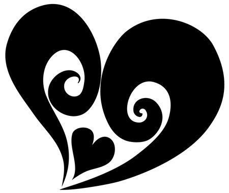 Tribal Heart Tribal Heart Tattoos White Heart Tattoos Tribal Heart