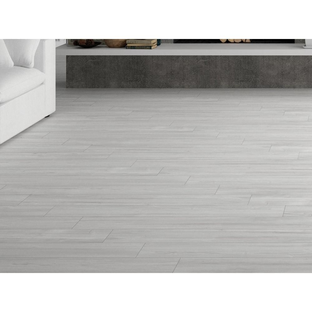 Helsinki White Wood Plank Porcelain Tile Floor Decor Wood Planks Wood Look Tile Wood Diy