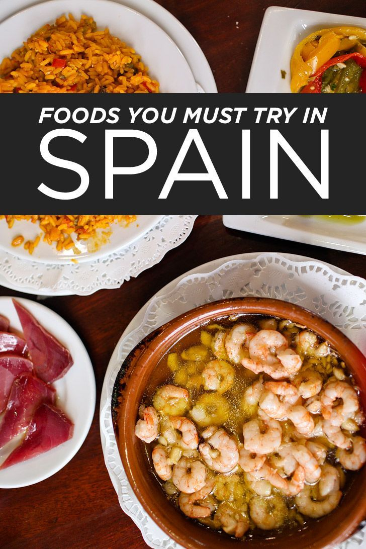 Here's a list of Spanish Foods you must try when visiting Spain // http://localadventurer.com