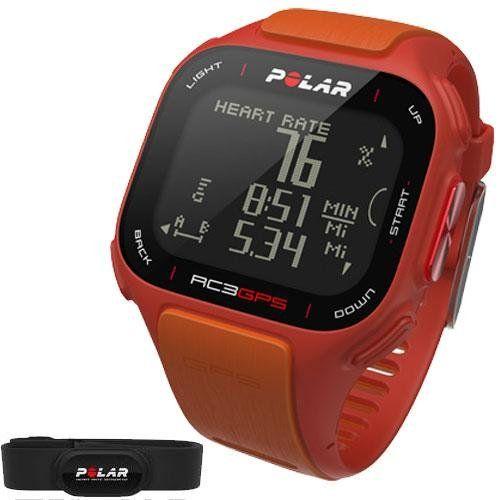 Polar RC3 GPS Heart Rate Monitor Watch Orange Listing