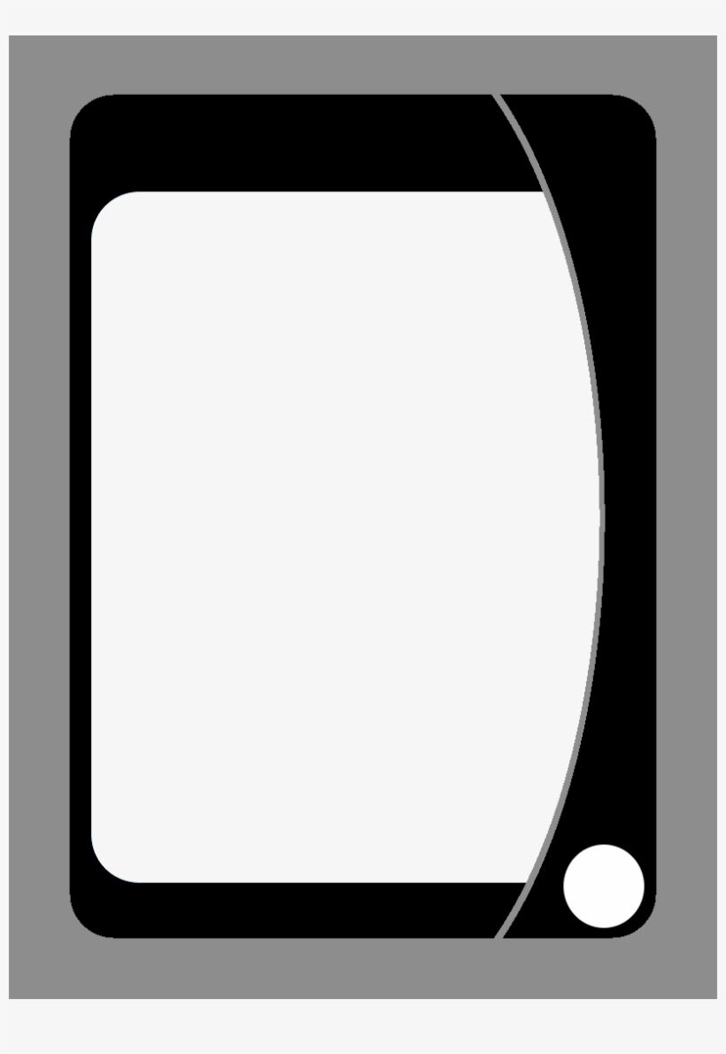 Playing Card Template 201613 Blank Transparent Png In Blank Playing Card Template Creat Baseball Card Template Blank Playing Cards Card Templates Printable