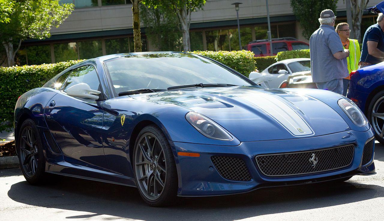Ferrari 599 Gto In Redmond Washington Usa Overpowering