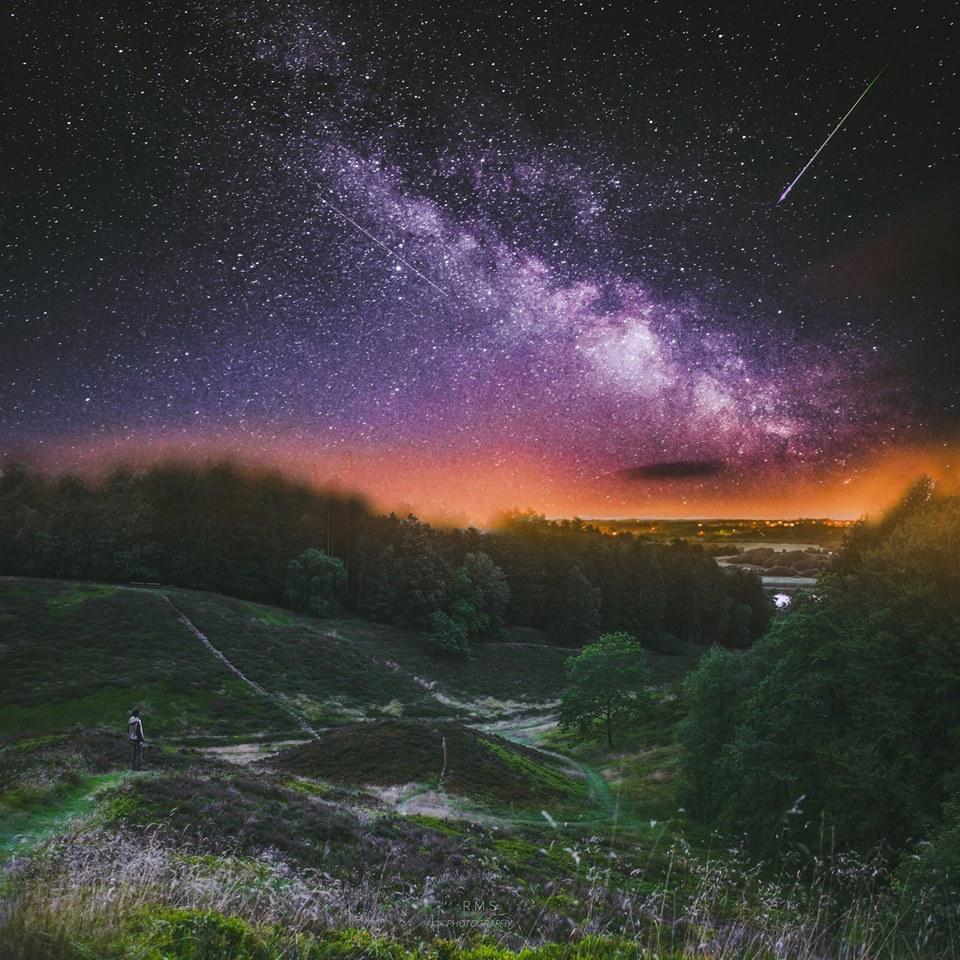 Milky Way Over Denmark - Photography by Ruslan Merzlyakov