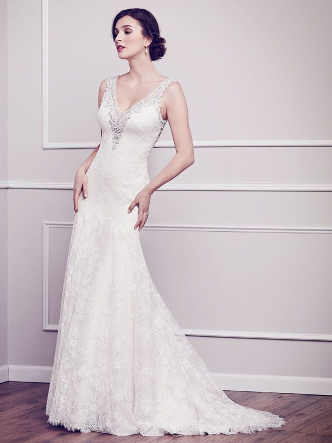 The latest Kenneth Winston collection is full of romantic lace dresses #romanticlace