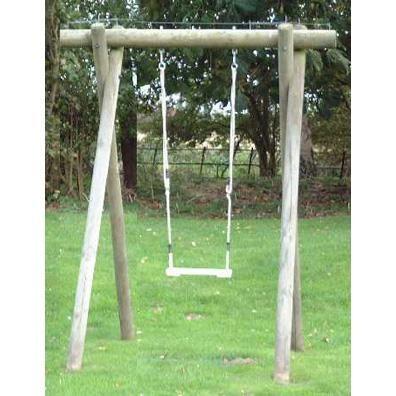 Delicieux Langley Single Swing Frame From Our Childrenu0027s Wooden Garden Swing Frames | Garden  Swings Range