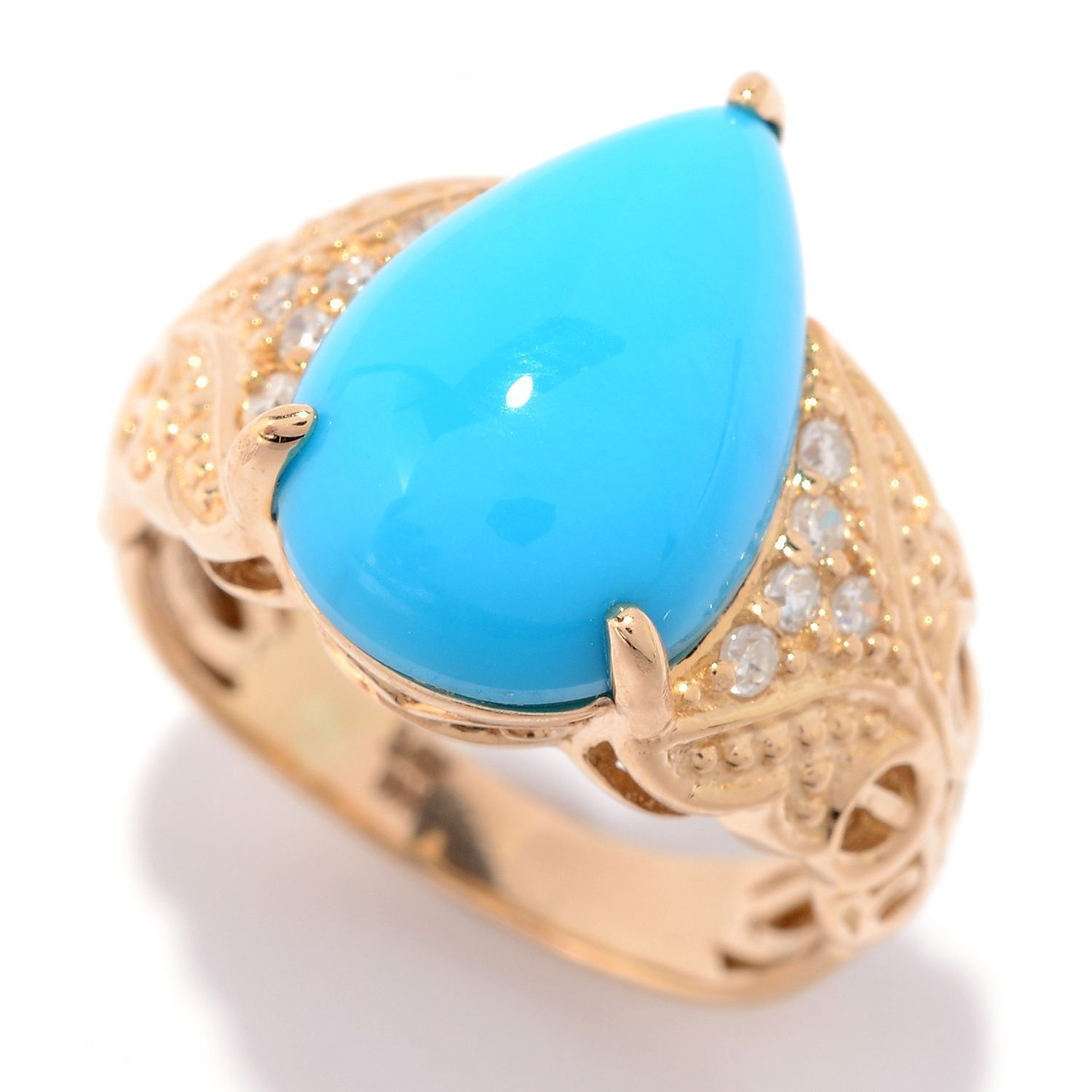 pearl seed diamond s antiques ring product turquoise kay