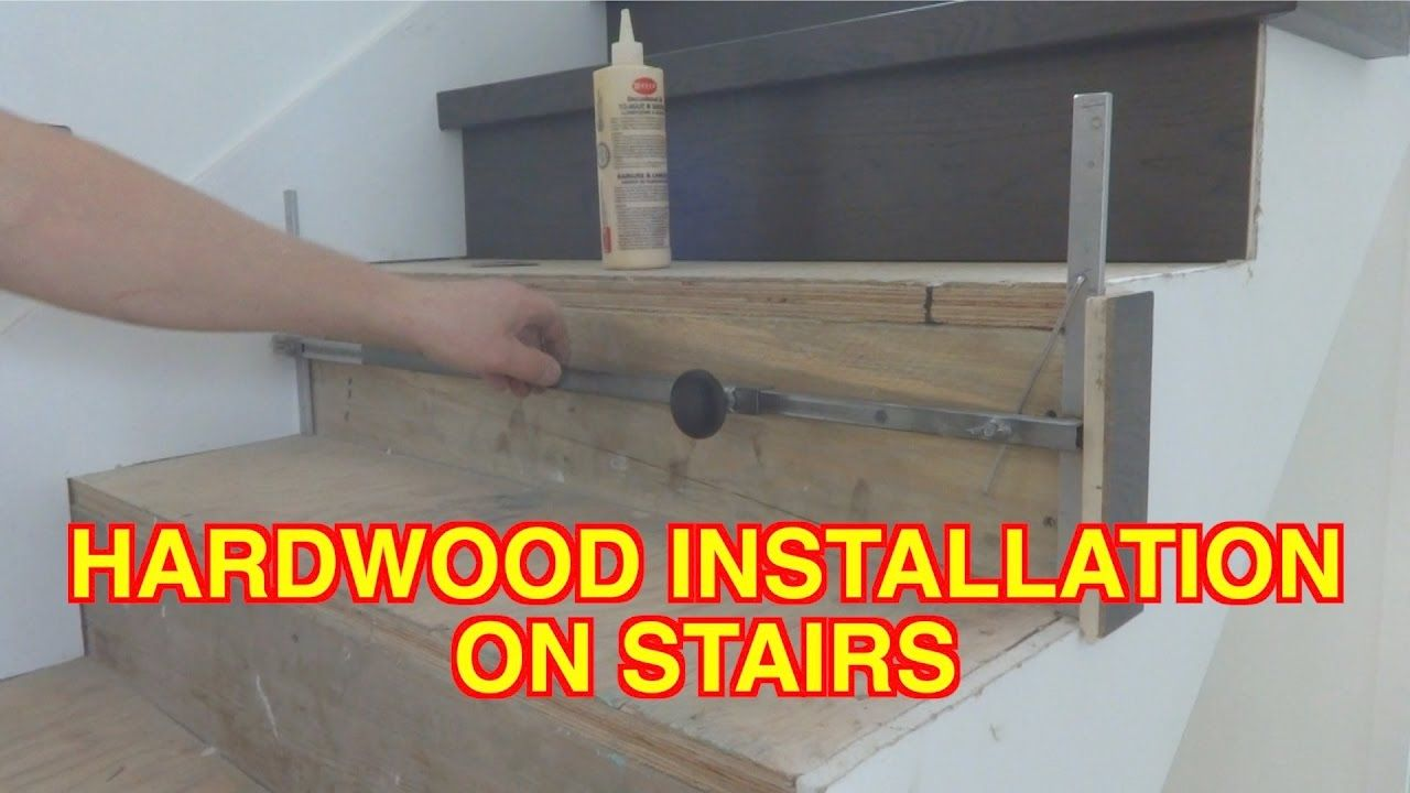 Best How To Install Hardwood On Stairs Open Side Staircase 640 x 480