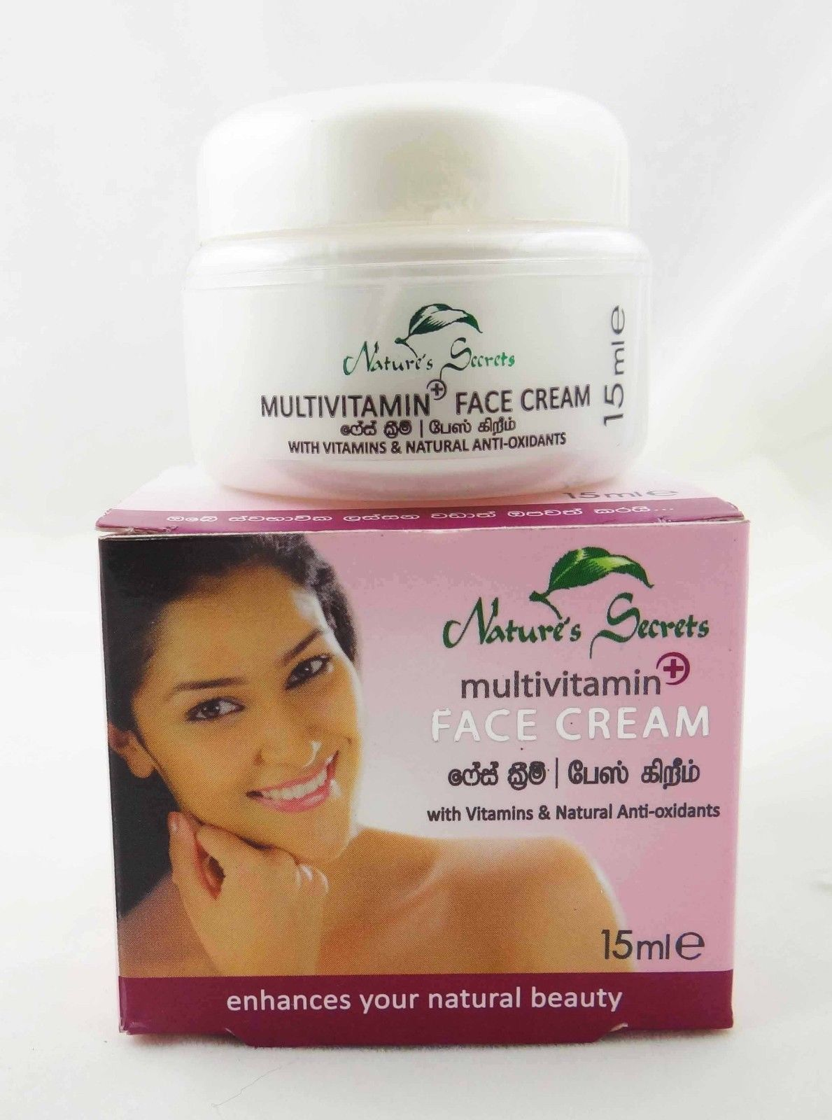 Nature S Secrets Multivitamin Face Cream 15ml Leaving Your Face Radiant With A Golden Glow Sri Lanka Mall Best Night Cream Face Cream Nature Secret