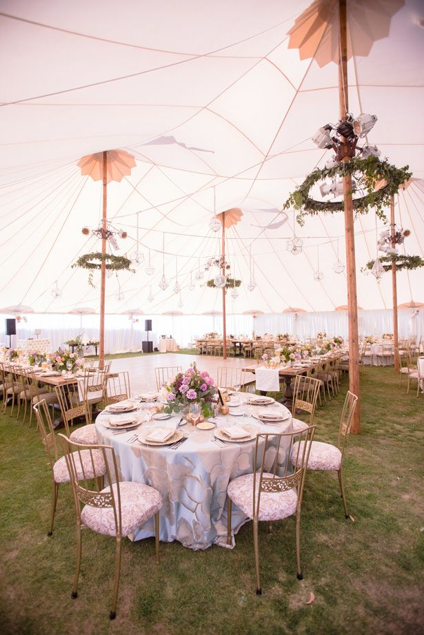 An Elegant Tent Wedding With A Rustic And Ethereal Twist Reception