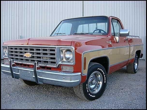 1976 Chevrolet Silverado Pickup 454 Ci Automatic Presented As Lot